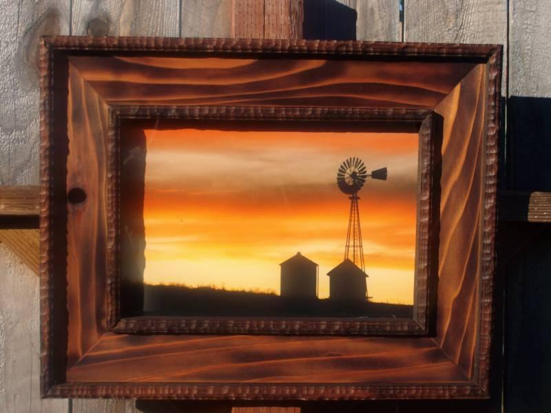 rustic picture frames ideas httpkthobbyframescomrustic frames